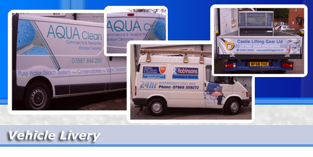 Vehicle Graphics & Signage Livery